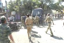 ناندیڑ میں شیوسینا اور بی جے پی کارکنان کے درمیان تنازع ، حالات پر قابو پانے کیلئے پولیس نے کیا لاٹھی چارج