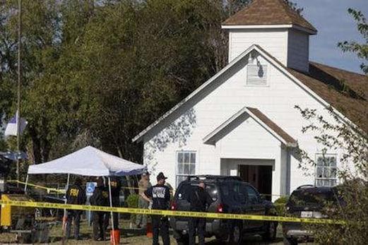 امریکہ : ٹیکساس میں چرچ میں اندھادھند فائرنگ ، 26 افراد کی موت ، صدر ٹرمپ کی صورتحال پر گہری نظر