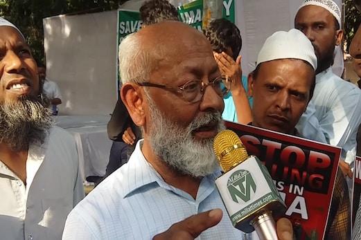 گجرات اسمبلی انتخابات میں بیلیٹ پیپرز کا استعمال کیا جائے: ڈاکٹر منظور عالم