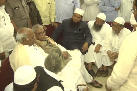 کانگریس لیڈر ملکارجن کھڑگے سے مسلم وفد کی ملاقات ، تین طلاق بل پر مودی حکومت کی مخالفت کی اپیل