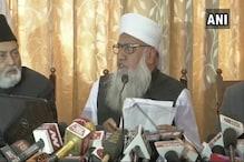 طلاق ثلاثہ بل سے طلاق کے مکمل نظام کو خطرہ : مولانا سجاد نعمانی کی پریس کانفرنس