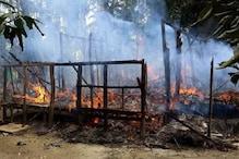 میانمار میں روہنگیا مسلمانوں کے خلاف تشدد: جلائے گئے 40 گاؤں: ایچ آرڈبليو