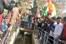 کاسگنج تشدد پر سیاست تیز: وشو ہندو پریشد، بجرنگ دل نے نکالی ترنگا یاترا