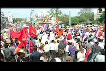 اورنگ آباد شہر میں دلت۔ مسلم اور مراٹھا اتحاد کا فرقہ پرستوں کے خلاف امن مارچ