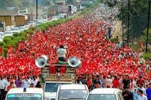 ودھان بھون کے گھیراو کیلئے ہزاروں کسان پہنچے ممبئی ، سخت حفاظتی انتظامات ، شہری کشمکش میں مبتلا