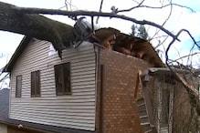 امریکہ میں طوفان کی تباہی ، 8 افراد ہلاک ، 9 لاکھ گھر اور دفاتر بجلی سے محروم