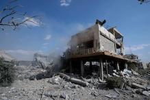 شام کا المزہ فوجی ہوائی اڈہ پر اسرائیلی حملہ سے انکار