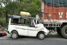 لکھیم پور کھیری میں ہوئے بھیانک سڑک حادثے میں 11 افراد ہلاک، 5 زخمی