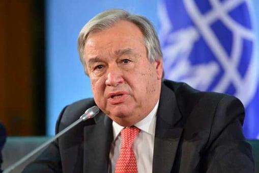 اقوام متحدہ کے سکریٹری جنرل اینٹونیو گوٹیرس۔ فائل فوٹو