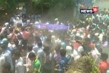اترپردیش :سہارنپور میں کشیدگی مگر امن ، بھیم آرمی کے ضلع صدر کے بھائی سچن والیہ کی آخری رسوم ادا