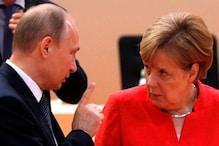 نیوکلیائی معاہدہ : کاروبار بچانے کیلئے یوروپی سربراہوں کی کوششیں تیز، انجیلا مرکل کا پوتن سے رابطہ