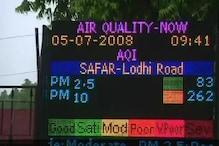 دہلی این سی آر میں موسم کا حال آج بھی خراب ، آسمان میں آج بھی چھائی رہے گی دھول