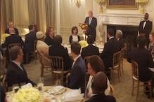 امریکی صدر ٹرمپ کی وہائٹ ہاوس میں افطار پارٹی ، مسلم ممالک کے سفیروںاور امریکی حکام کی شرکت