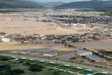 جاپان میں آفت کی بارش : جاپان میں شدید بارش سے 130 افراد  ہلاک