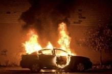 روس میں چلتی کار میں آگ لگنے سے تین کی موت