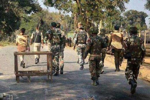 این آرسی معاملہ: آسام سرحد پر اضافی سیکورٹی فورس تعینات