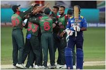 """ایشیا کپ 2018: بنگلہ دیشی بلے بازمشفق الرحیم اورگیند بازوں نے سری لنکا کی لگادی """"لنکا""""۔"""