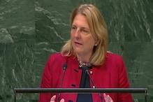 اقوام متحدہ میں آسٹریا کی وزیر خارجہ نے عربی میں تقریر کر سب کو حیرت زدہ کیا