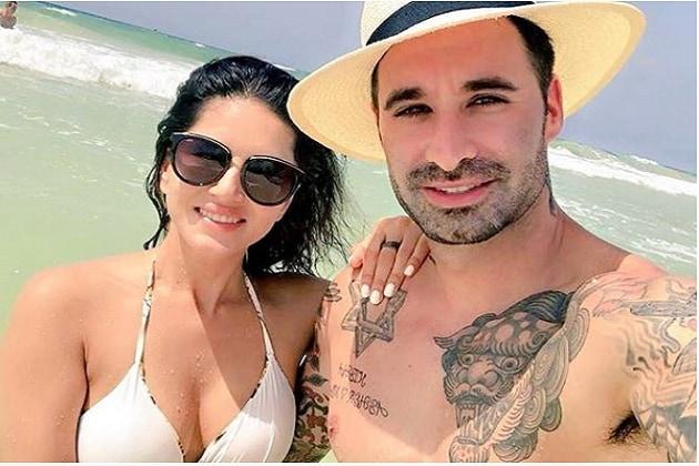 سنی لوینی اپنے شوہر کے ساتھ میکسیکو میں بنا رہی ہیں چھٹیاں