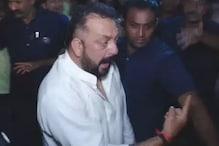 دیوالی پارٹی میں شراب کے نشے میں بیہوش سنجے دت صحافیوں کو دی ماں ۔ بہن کی گالیاں ، ویڈیو وائرل