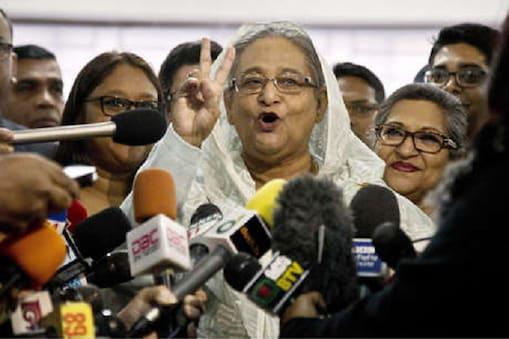 شیخ حسینہ نے بنگلہ دیش میں شاندارجیت حاصل کی ہے۔