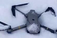 پاکستان کا دعوی: کنٹرول لائن پر مار گرایا ہندستان کا جاسوسی ڈرون، شیئر کی تصویر