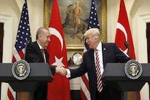 ٹرمپ کا شام کی سرحد پر جنگ بندی کے قیام کا خیر مقدم، ترکی پر سے پابندی اٹھانے کا اعلان