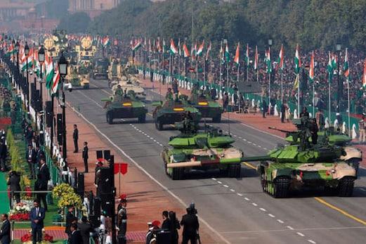 یوم جمہوریہ پریڈ میں زمین سے لےکرآسمان تک دنیا نے دیکھی ہندوستان کی طاقت