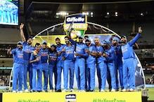 دھونی اورجادھوکی شانداراننگ کی بدولت ٹیم انڈیا نے تاریخ رقم کردی، آسٹریلیا میں پہلی بارونڈے سیریزپرقبضہ