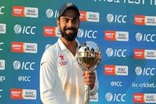 ٹیم انڈیا پہلی پوزیشن پرقابض، پاکستان کی ایک درجہ تنزلی، جنوبی افریقہ کودوسری پوزیشن