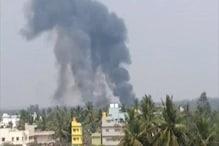 بنگلورو ائیرشو: فضائیہ کے دو ہاک طیارے حادثے کا شکار، ایک پائلٹ کی موت