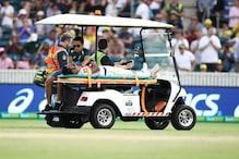 سری لنکا کے سلامی بلے باز کرونارتنے کے سر پر لگی تیز گیند ، اسٹریچر پر اٹھاکر لے جایا گیا اسپتال
