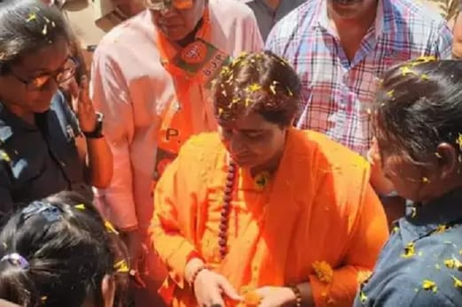 سادھوی پرگیہ ٹھاکرکی مخالفت میں بی جے پی کے اندراٹھنےلگی بغاوت کی آواز