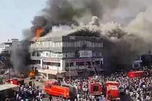 سورت کوچنگ آتش زدگی واقعہ: ' زندہ بچنے کے لئے میں نے چانس لیا اور تیسری منزل سے کود گیا'۔