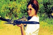 الہ آباد : تنیشا منیرنے نشانے بازی کے قومی  مقابلے میں جیتا گولڈ میڈل