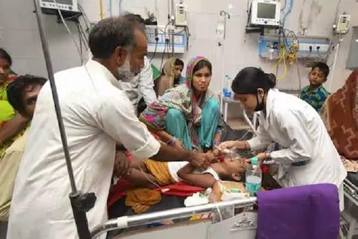 راجیہ سبھا میں دماغی بخار سے مرنے والوں بچوں کا معاملہ اٹھا