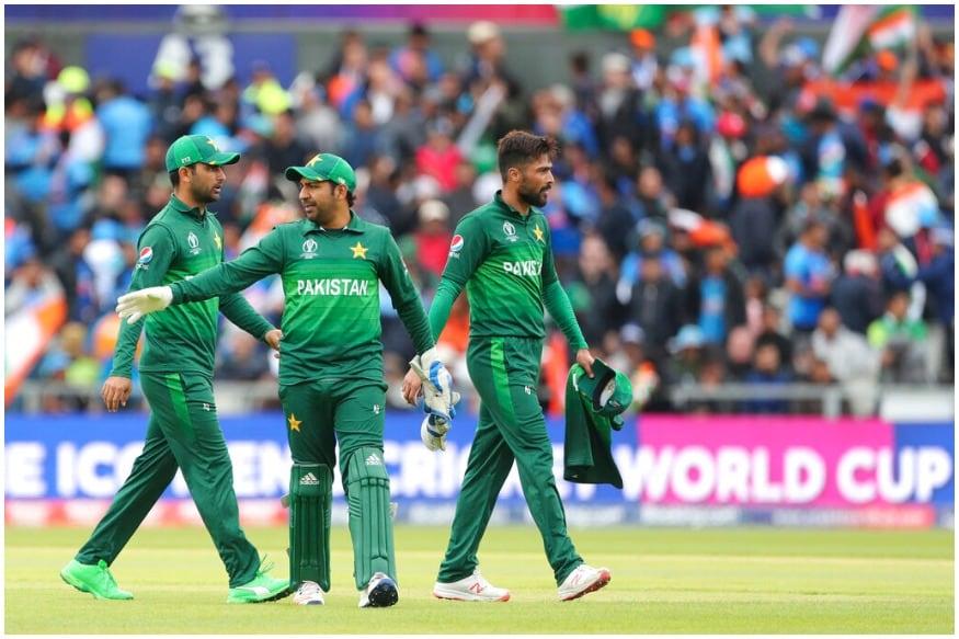 پاکستانی کرکٹ ٹیم۔