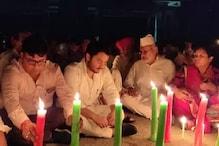 مسلم قدآورلیڈراعظم خان کے بیٹےعبداللہ اعظم حامیوں کے ساتھ دھرنے پربیٹھے