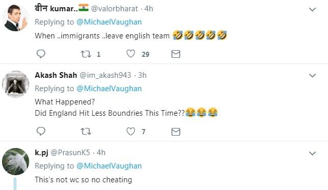 کرکٹ شائقین کا زبردست ٹوئٹ
