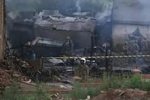 پاکستان کے راولپنڈی میں فوجی طیارہ حادثے کا شکار، 17 افراد کی موت