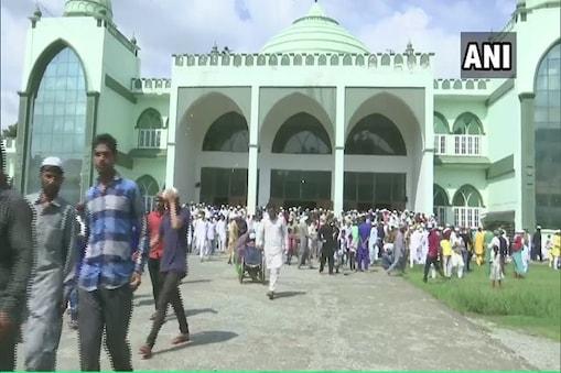 جموں وکشمیر: عیدالاضحٰی کے موقع پر صورتحال پرامن۔(تصویر:اے این آئی)۔