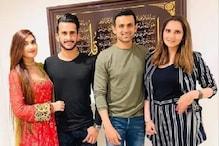 حسن علی اورشامیہ آرزوکی شادی کے بعد ثانیہ مرزا نے دی پہلی دعوت