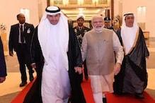 'ابو ظہبی پہنچے وزیر اعظم نریندر مودی، متحدہ عرب امارات حکومت دے گی  'آرڈر آف زائد