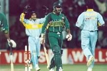 اس ہندوستانی گیند بازنے اڑا دیا تھا پاکستانی بلے بازکا اسٹمپ