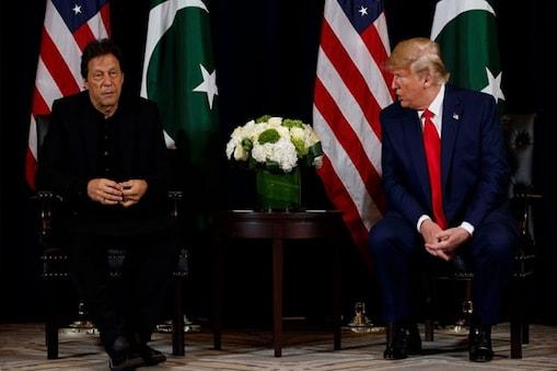 ڈونلڈ ٹرمپ۔ عمران خان