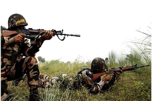 پاک مقبوضہ کشمیر میں کارروائی سے بوکھلایا پاکستان ، پونچھ میں رہائشی علاقوں میں برسا رہا ہے گولیاں