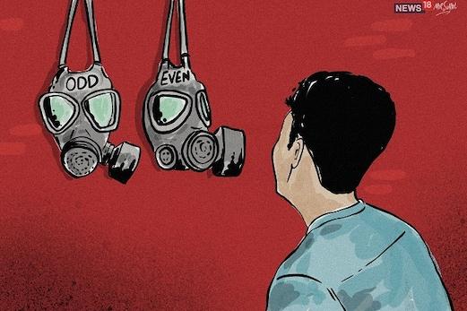 دہلی:فضائی آلودگی پرقابوپانے کے لیے 4 سے15 نومبر تک طاق۔جفت اسکیم کاہوگا نفاذ