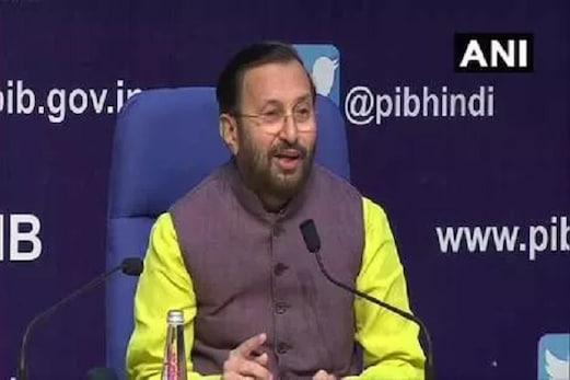مرکزی وزیر پرکاش جاؤڈیکرنے پیش کی 100 دنوں کی رپورٹ، کشمیرسے آرٹیکل 370 ہٹانے کی بتائی وجہ