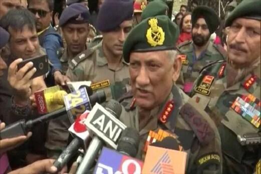 بپن راوت نے کہا۔ پاکستان نے بالاكوٹ کیمپ پھر شروع کیا، دراندازی کی فراق میں ہیں 500 دہشت گرد