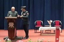 لداخ کے پہلے لیفٹیننٹ گورنر رادھا کرشن ماتھر نے عہدہ اور رازداری کا حلف لیا